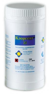 Клорсепт (таблетки и гранулы)