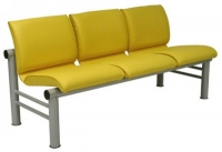 Секция стульев трёхместная Карнак