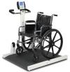 """Весы медицинские электронные для инвалидных колясок,с пультом, на штативе напольного типа """"Detecto"""" мод. 6550KGEU производства Detecto Scale Company, USA"""