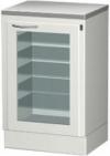 СЕ 110-2М - шкаф с выдвижными полками и облучателем бактерицидным для хранения стерильного инструмента.