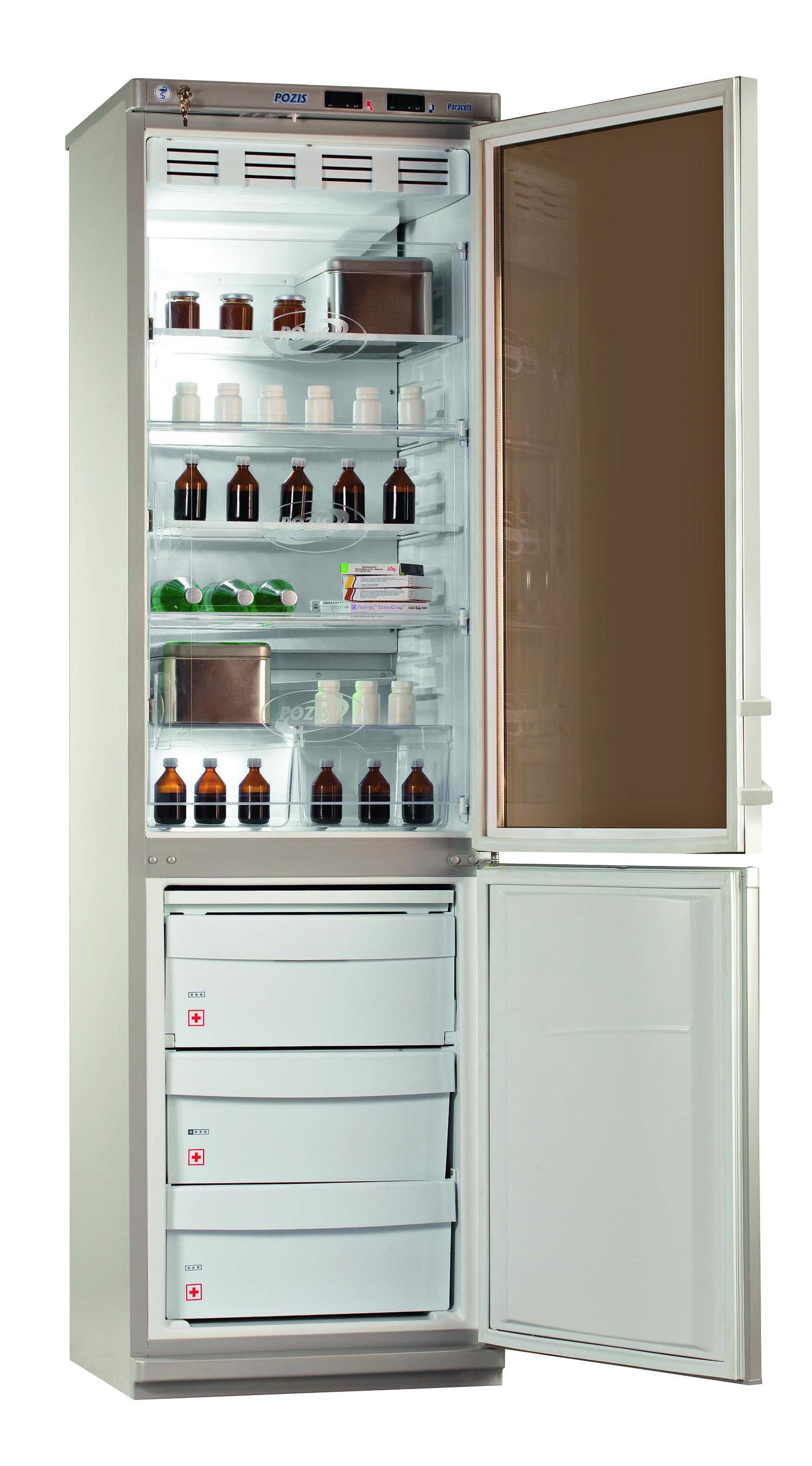 Холодильник комбинированный лабораторный ХЛ-340 (270 л-хол.камера, 130 л-мороз.камера)