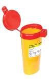 ЕК-01 д. игл емк.0,6 (желтая, красная) овал. с кронштейном
