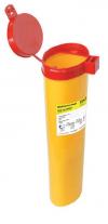 ЕК-01 д. игл емк.,1,1л(желтая,красная) овал.с кронштейном
