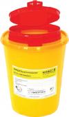 ЕК-01 д. игл емк. 1,5 (желтая, красная) с кронштейном