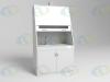 Шкаф вытяжной ШВ 1-03 с мойкой