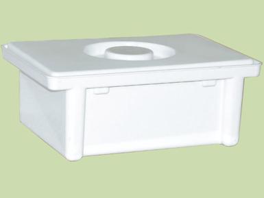 Емкость-контейнер полимерный для дезинфекции и предстерилизационной обработки медизделий ЕДПО-1-01