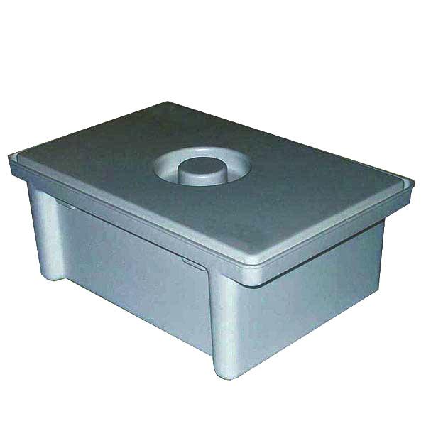 Емкость-контейнер полимерный для дезинфекции и предстерилизационной обработки медизделий ЕДПО-3-01